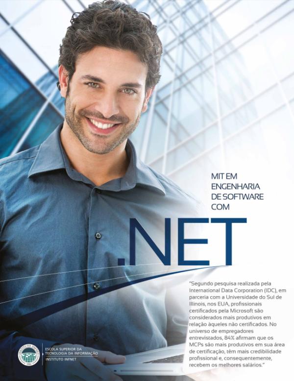 Pós-graduação MIT em engenharia de software com .NET