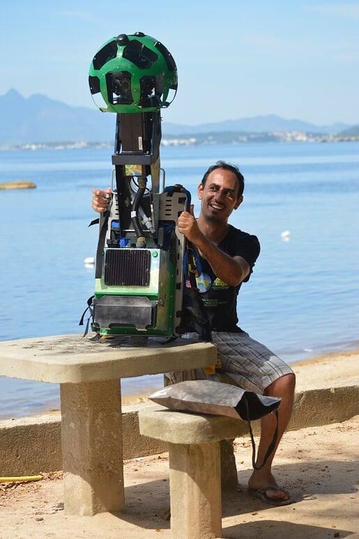 José Felipe seguiu carreira na área de TI e ajudou a mapear a Ilha de Paquetá no Google Street View