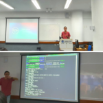 """O Igor Assunção, nosso aluno de Engenharia de Computação, deu uma palestra ontem aqui no Infnet com o tema """"Otimizando imagens e containers Docker"""""""