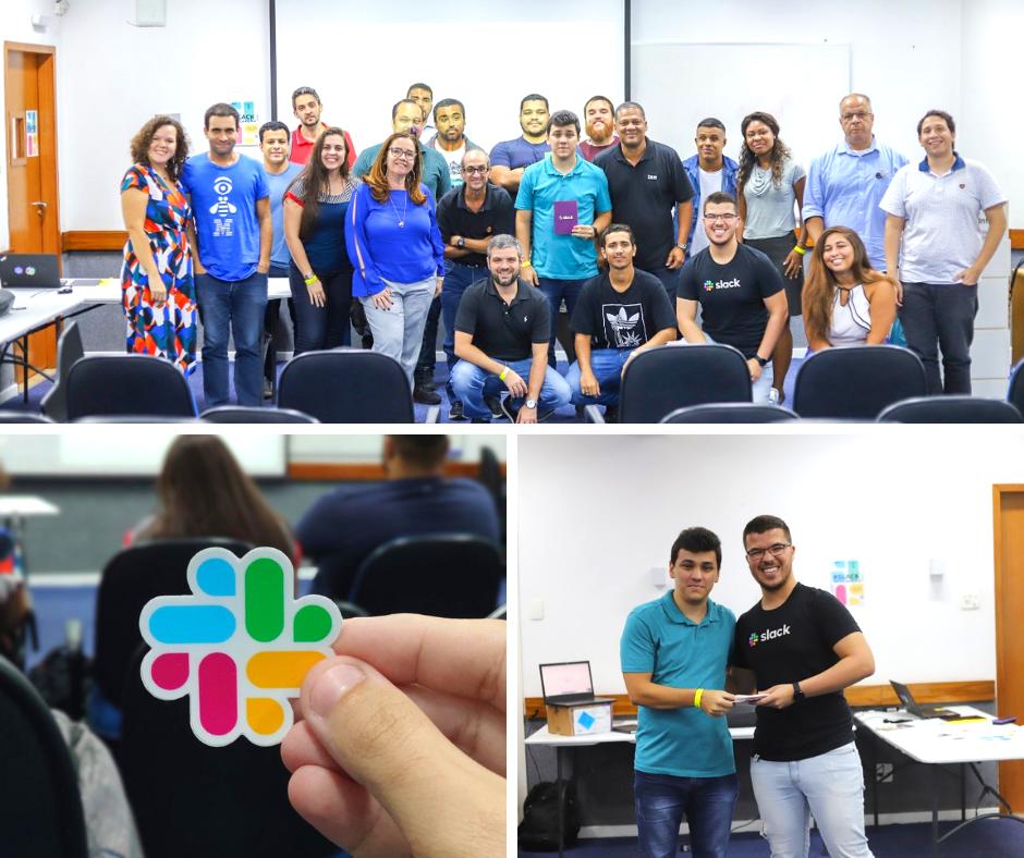 Comunidade Slack Rio trouxe o segundo encontro ao Infnet