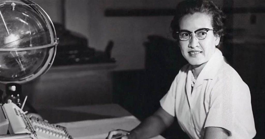 Da série mulheres na tecnologia: Katherine Johnson foi matemática da NASA e ajudou no sucesso de missões espaciais.