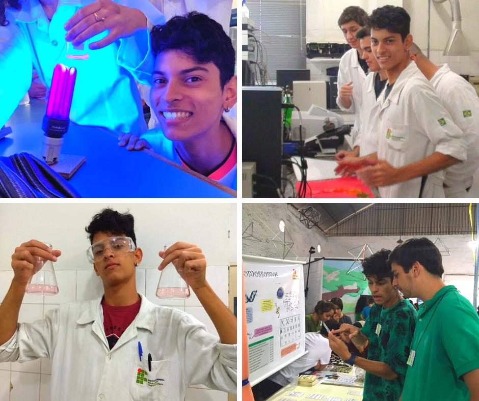 Um exemplo é o Paulo Meirelles, o galã das fotos acima. Ele está no último período do ensino médio e técnico em biotecnologia, no IFRJ. Soube do Geek Power por meio de um amigo que trabalha em TI e se inscreveu.