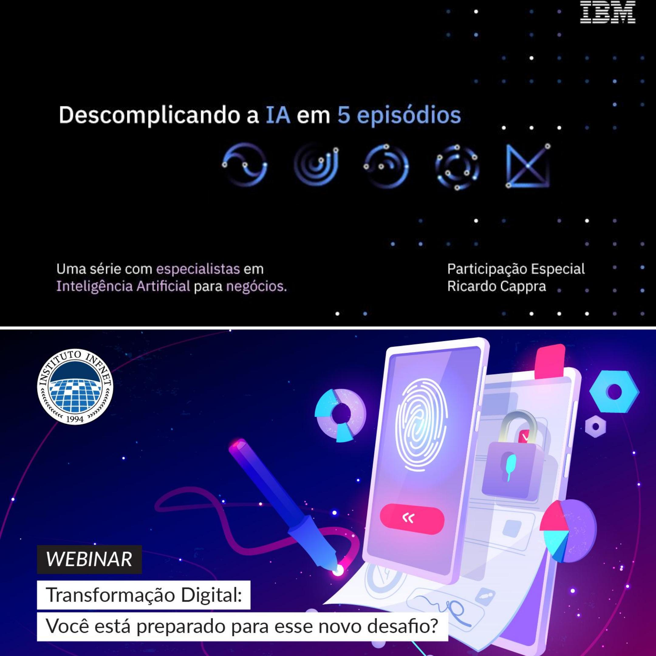 IBM e Infnet promovem webinar nesta terça-feira.