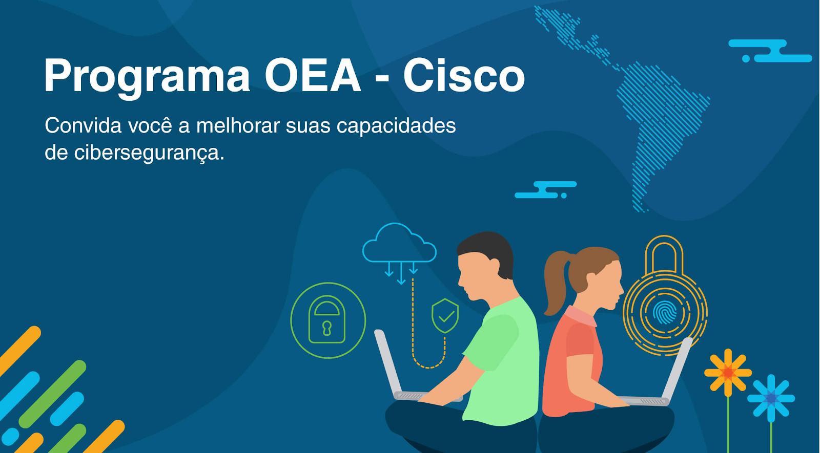 Cursos de cibersegurança da Cisco oferecem certificados.
