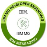 Selo que representa o IBM badge.